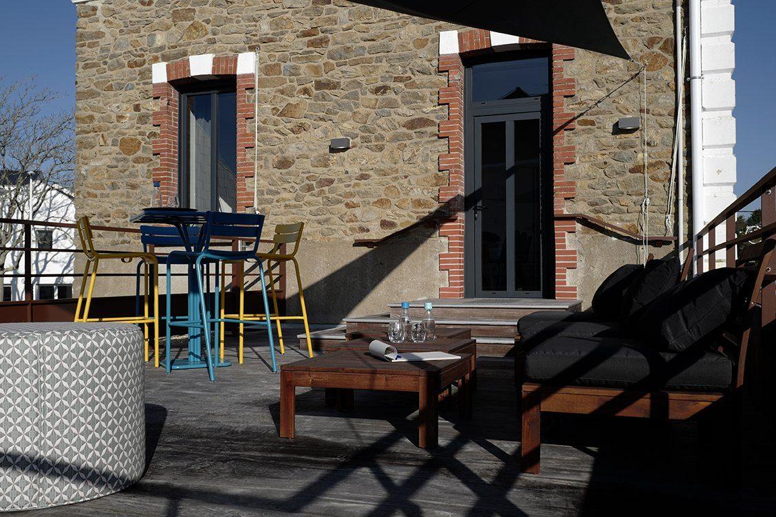 Photo de l'espace travail Le Centre Affaire pour des réunion, séminaire, formations ou after work à Saint Nazaire.